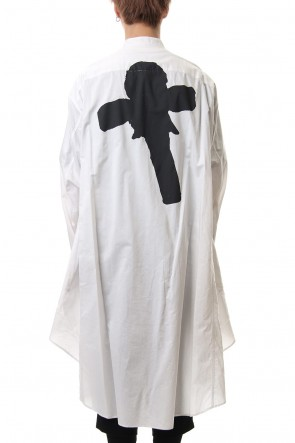 JULIUS 20SS PT Long shirt White