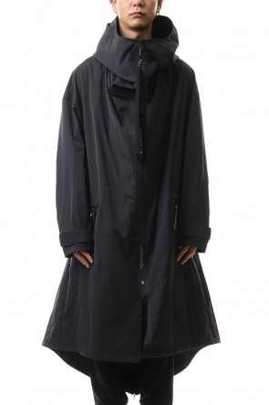NILøS 20SS High neck long coat
