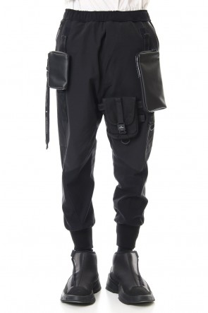 NILøS 20SS Military pants Black