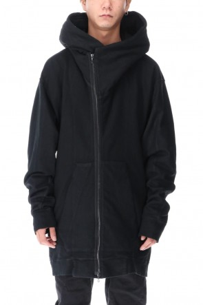 JULIUS 20-21AW PADDED ZIP HOODIE (Coating)