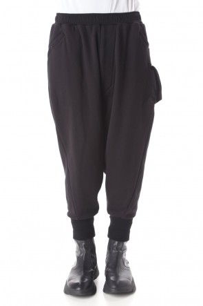 JULIUS 21PS Low Crotch Sweat pants