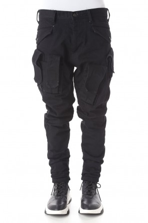 JULIUS 21PS Denim Cargo pants