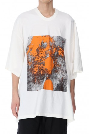 JULIUS 21SS GRAPHIC T-SHIRT Ver. 2 OFF WHITE