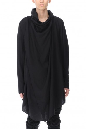 JULIUS 21SS COVERED SHIRT BLACK
