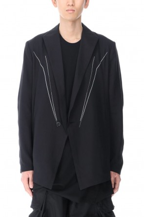 JULIUS 21PF Embroidered Blazer