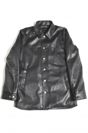 GalaabenD 20-21AW Fake Leather Jacket