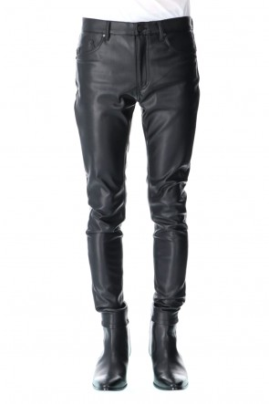 GalaabenD 20-21AW Fake Leather Pants