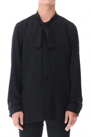 GalaabenD 20-21AW Ribbon Shirt (Black)