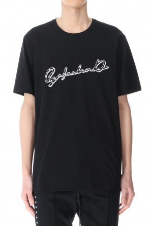 GalaabenD 21SS Short Sleeve Print T Shirt Black