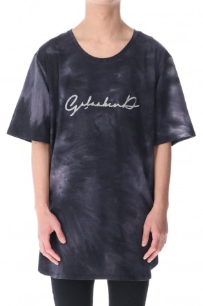 GalaabenD 21SS Tie Dye T Shirt BLACK MIX