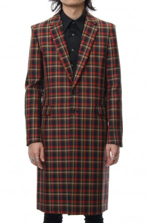 GalaabenD 18-19AW Vintage Check .2 Chesterfield