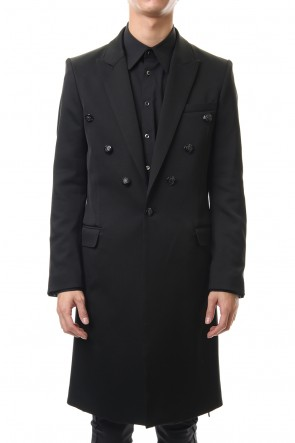 GalaabenD 20PS Hybrid French Twill Long Jacket Black