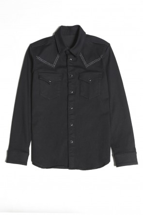 GalaabenD 20-21AW EX. Metal Dot Denim Jacket