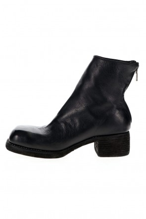 Guidi21-22AW9086 Back Zip Boots - Horse Full Grain Sole Leather