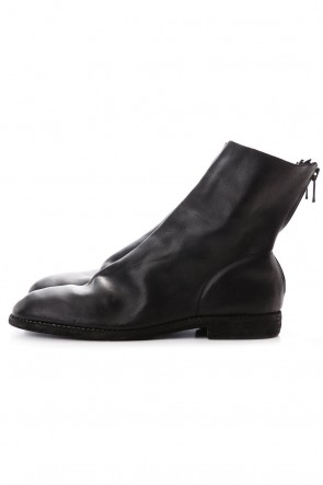 Guidi 20SS Back Zip Boots Single Sole - Horse Full Grain - 986MS