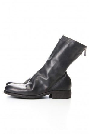 Guidi20-21AWMiddle Back Zip Boots Single Sole - Horse Full Grain Leather - 988