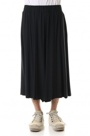 RONDO.ym 20SS Silk Georgette Tuck Wide Pants