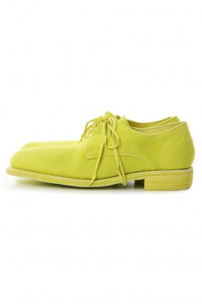 Guidi19SSClassic Derby Shoes Laced Up Single Sole - 992  Linen - CO27/T