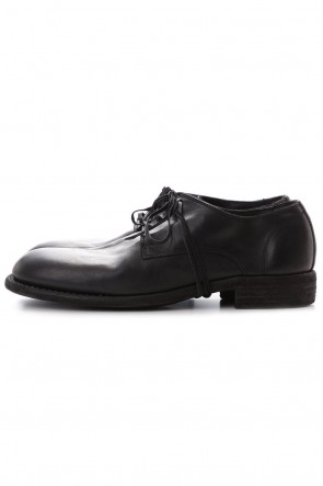 GuidiClassic Derby Shoes Laced Up Single Sole - Horse Full Grain - 992X