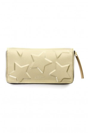 MIHARAYASUHIRO Classic STAR Invisible Long Wallet Gold