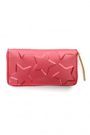 MIHARAYASUHIRO Classic STAR Invisible Long Wallet Pink