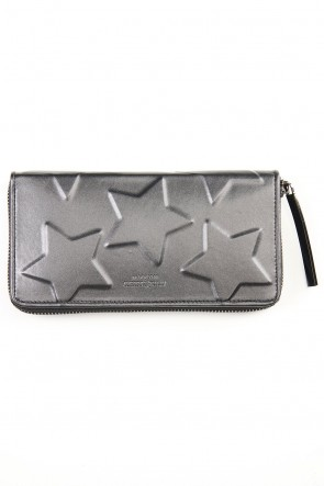 MIHARAYASUHIRO Classic STAR Invisible Long Wallet Black