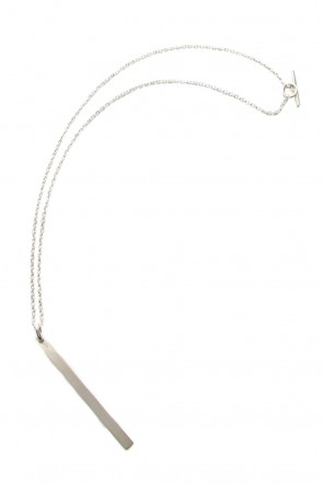Parts of Four 18-19AW Plate Necklace (Half, MA)