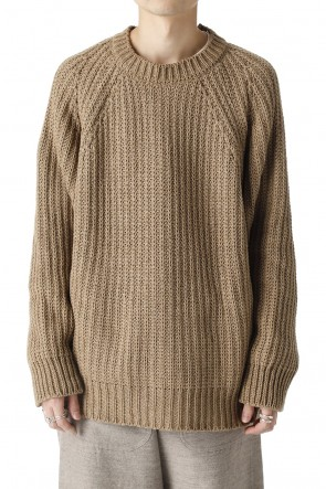 O PROJECT21-22AWKNITTED CREW NECK Clove