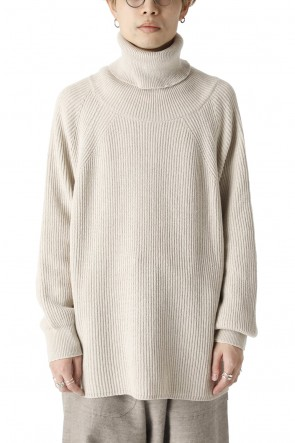 O PROJECT21-22AWKNITTED TURTLE NECK Ivory