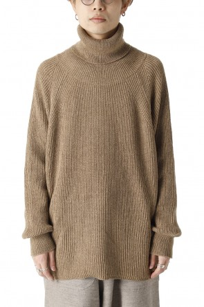 O PROJECT21-22AWKNITTED TURTLE NECK Clove