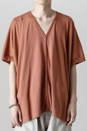 O PROJECT22SSV NECK TEE RED BRICK