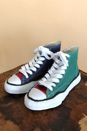 MIHARAYASUHIRO 19-20AW Original sole Canvas Hi cut sneaker Multi