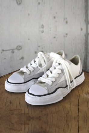 MIHARAYASUHIRO 19-20AW Original sole Canvas / Suede Low cut sneaker White