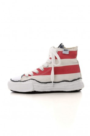 MIHARAYASUHIRO 19-20AW Original sole Stars and Stripes Hi top sneaker Multi