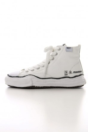 MIHARAYASUHIRO 19-20AW Original sole Leather Hi top sneaker White