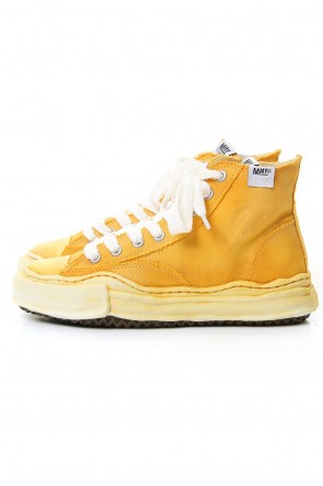 MIHARAYASUHIRO 20SS Original sole Over die hiptop sneaker Yellow