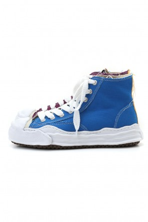 MIHARAYASUHIRO 20-21AW Original sole Toe cap sneaker HI canvas Blue/Purple