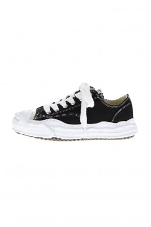 MIHARAYASUHIRO 20-21AW Original sole Toe cap sneaker LOW canvas Black Delivery Early November
