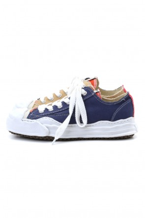 MIHARAYASUHIRO 20-21AW Original sole toe cap sneaker LOW canvas Navy/Beige Delivery Early November