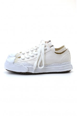 MIHARAYASUHIRO 20-21AW Original sole Toe cap sneaker LOW canvas White Delivery Early November