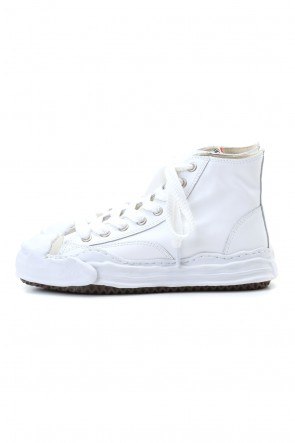 MIHARAYASUHIRO 20-21AW Original sole Toe cap sneaker HI leather White