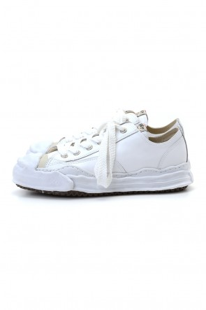 MIHARAYASUHIRO 20-21AW Original sole Toe cap sneaker LOW leather White
