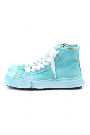 MIHARAYASUHIRO 20-21AW Original sole Toe cap sneaker HI over dyed Emerald
