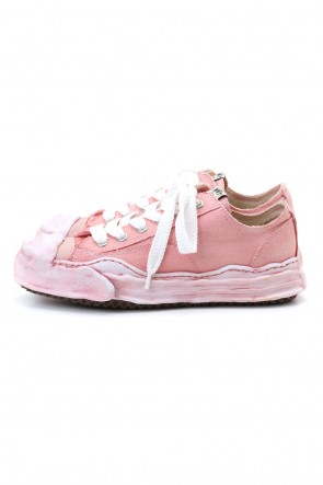 MIHARAYASUHIRO 20-21AW Original sole Toe cap sneaker LOW over dyed Pink