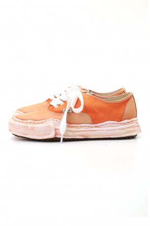 MIHARAYASUHIRO 20-21AW Original sole Overdyed lowcut sneaker Orange
