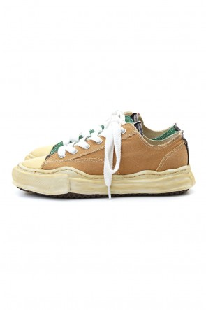 MIHARAYASUHIRO 20-21AW Original sole Overdyed lowcut sneaker CONVERS Yellow Delivery Early November