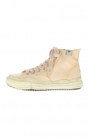 MIHARAYASUHIRO 21SS -PETERSON- Original sole over dyed Hi-top sneakers Beige