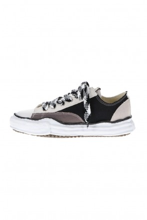 MIHARAYASUHIRO 21SS -PETERSON Low- Original sole multi color Low-cut sneakers Black / White