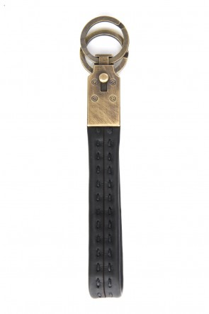DEVOA 18-19AW Key Holder Brass and Calf