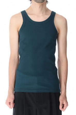 ATTACHMENT 21SS Fresca Rib Tank Top D.Green